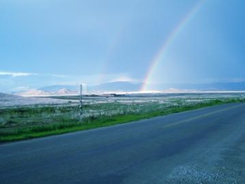Blue Rainbow