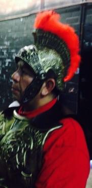 george as roman soldier-fiesta 4-30-17